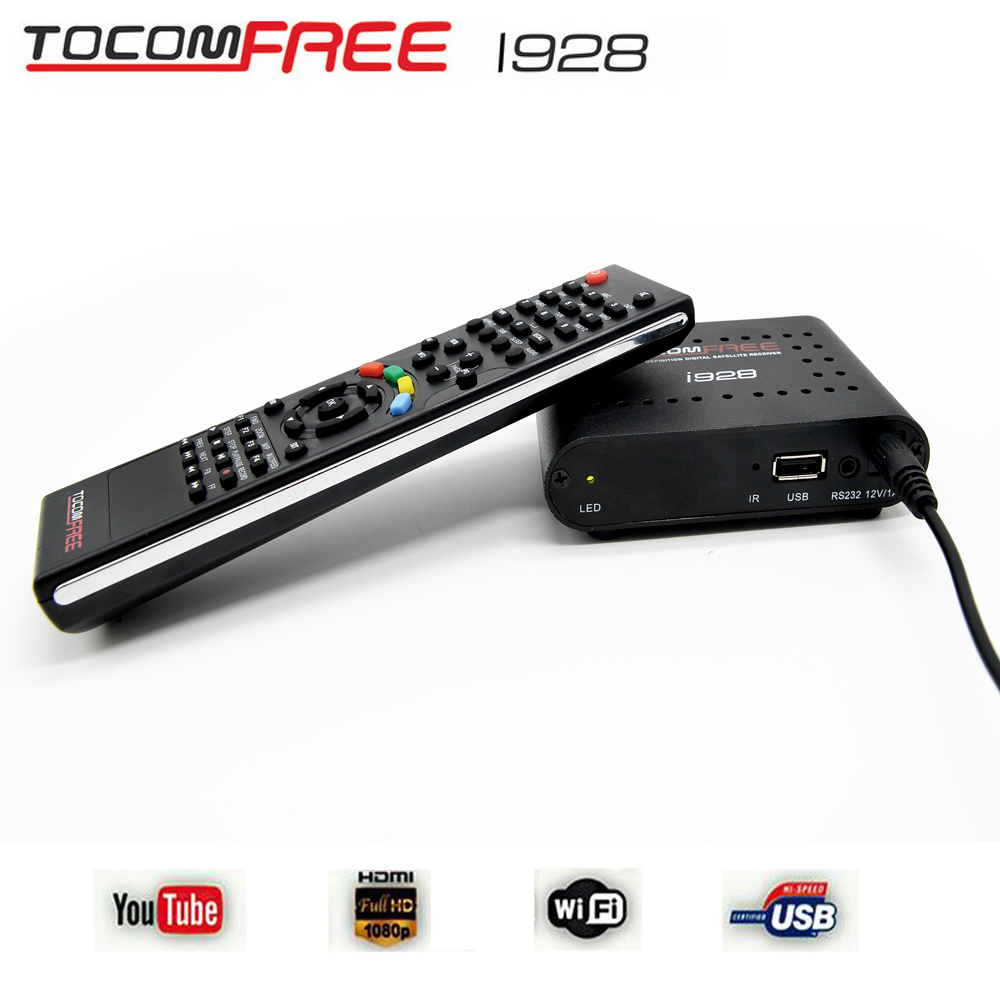 Hot model iks free TV <strong>satellite</strong> <strong>receiver</strong> Tocomfree i928 support full <strong>hd</strong> <strong>FTA</strong> for South America