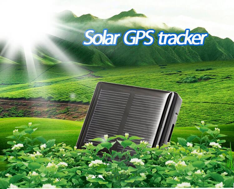 Gestion animal 2020 Energia solar larga espera 4000 mAh bateria GPS tracker V26 con IP 67 a prueba de agua y escucha remota