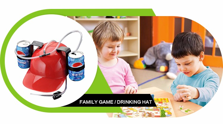 Multi Design ECO-Friendly Creative Drinking Hat For Holiday Games
