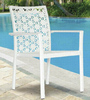 All Weather Outdoor Garden Wicker Chair White