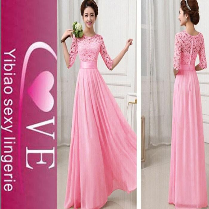 Venta al por mayor precio elegante diseño sin espalda vestido de ...