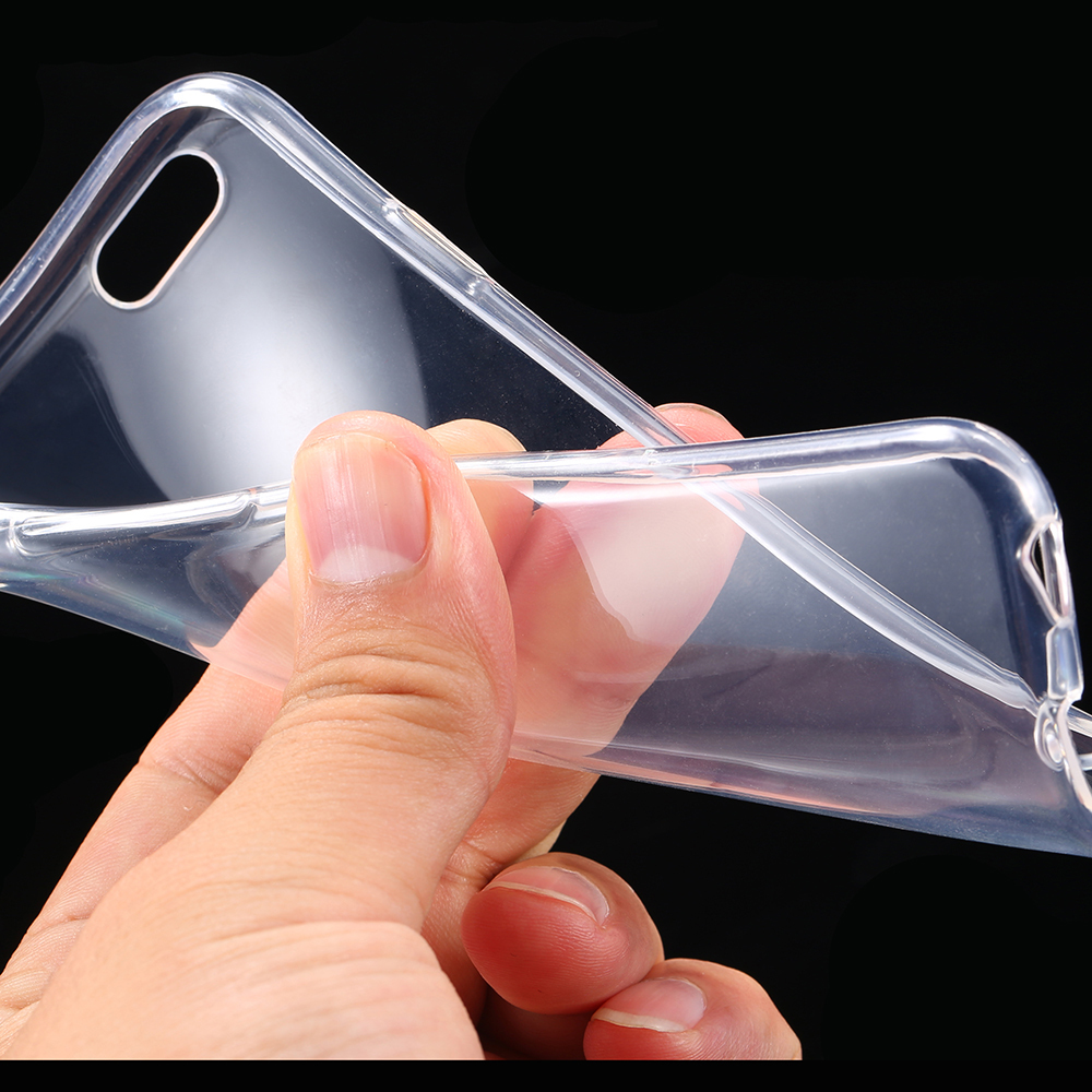 Ultra Thin Soft TPU Gel Original Transparent Case For iPhone SE 5S 5 Crystal Clear Silicon