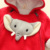 wholesale price 100% Cotton infant toddler elephant hoodie autumn winter warm newborn baby clothes romper