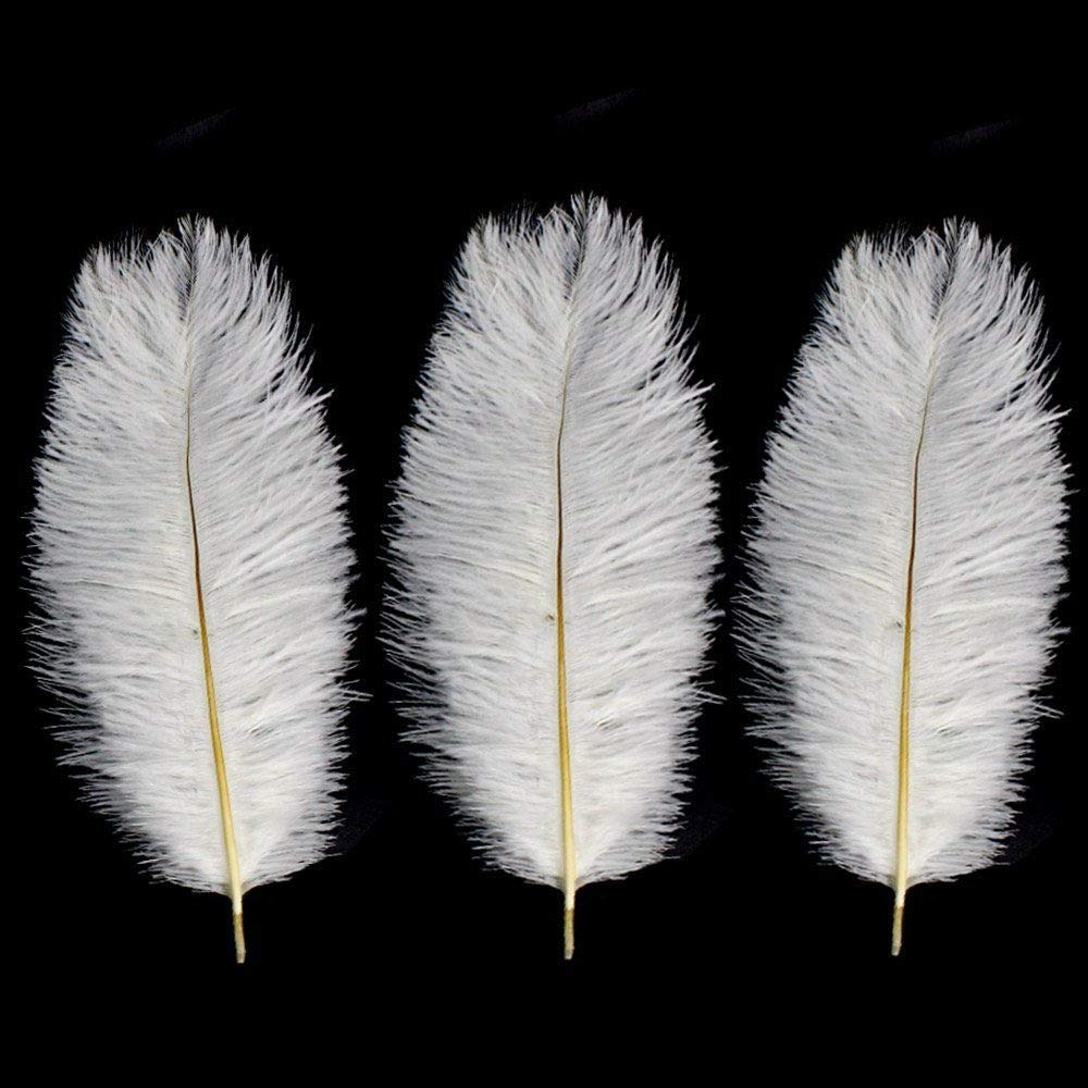 Natural Ostrich Feathers 12-14inch(30-35cm) for Home Wedding Party Decoration