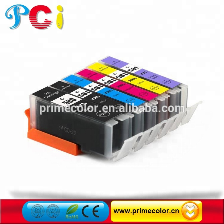 2018 PCI 새 products Compatible Ink Cartridge 대 한 Canon PGI-580 CLI-581