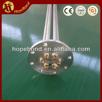 Electric water boiler heating element