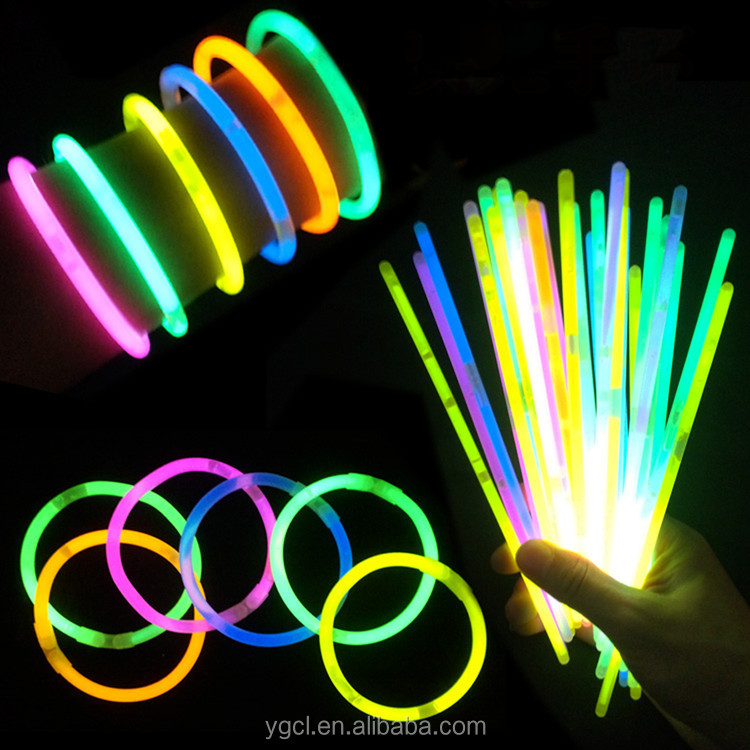 8'' Awesome Party Decorations Glow Stick Wholesale Glow Light Bracelet