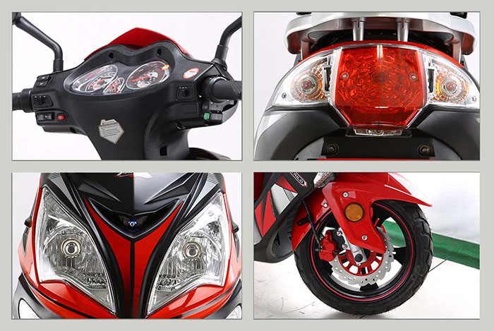 1500W-2000W adult powerful electrical motorcycle with EEC certufucate for sale