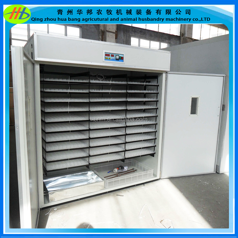 Fully automatic egg incubator hatchery 5280 capacity chicken egg incubator hatching machine