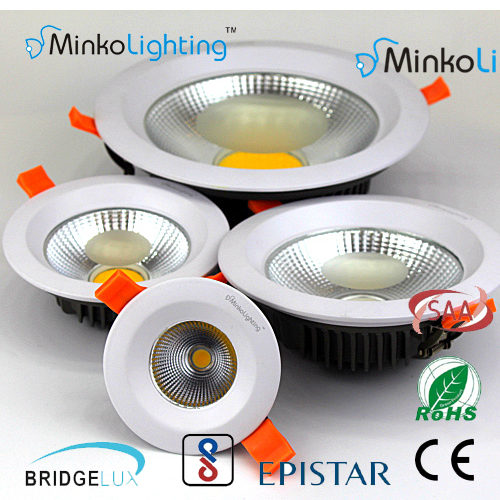 Wholesale Anti-Glare Design Cob 8 Inch Led Downlight 30W Hot Sale Recessed Led Downlight Led Lamp Design CE,ROHS,SAA,FCC