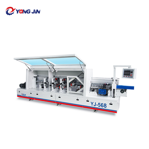 YJ-568 Wooden Doors Edge Bonding Wood Furniture Color Edging Machine with Gluing