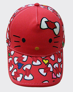 Personalized Ingenuity Hello Kitty Cartoon Children Girls Baseball Caps
