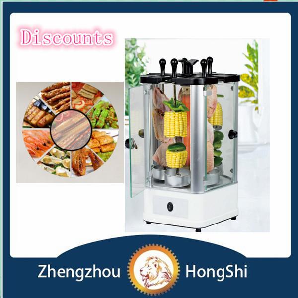 2015 populaire lectrique vertical barbecue griller la viande lectrique vertical mini machine. Black Bedroom Furniture Sets. Home Design Ideas