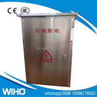New products stainless steel waterproof electrical power distribution box