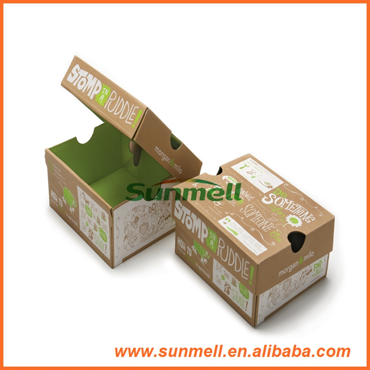 custom printed cardboard box empty shoe box weight for sale