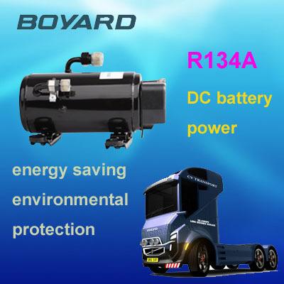 r134a dc compresseur de climatisation pour voiture lectrique climatiseur moteur maison. Black Bedroom Furniture Sets. Home Design Ideas