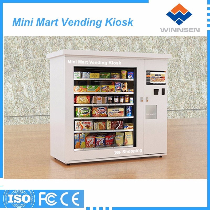 Cheap price money maker vending machine with wifi function