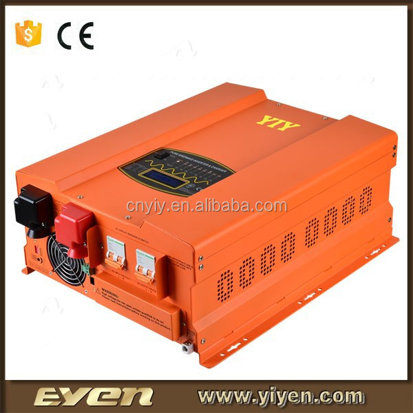 5000W hybrid inverter with solar charger controller air conditioner remote control manufacturers split phase inverter