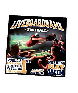 LIVE BOARD GAME Football (World's 1st Board Game Played While Watching Live Sports)