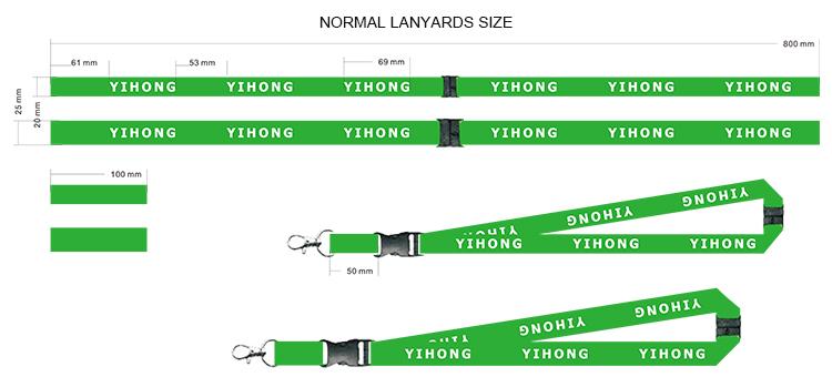 ขายส่ง OEM BLANK ระเหิดโพลีเอสเตอร์ราคาถูกส่วนบุคคลโลโก้ที่กำหนดเองพิมพ์ Lanyard