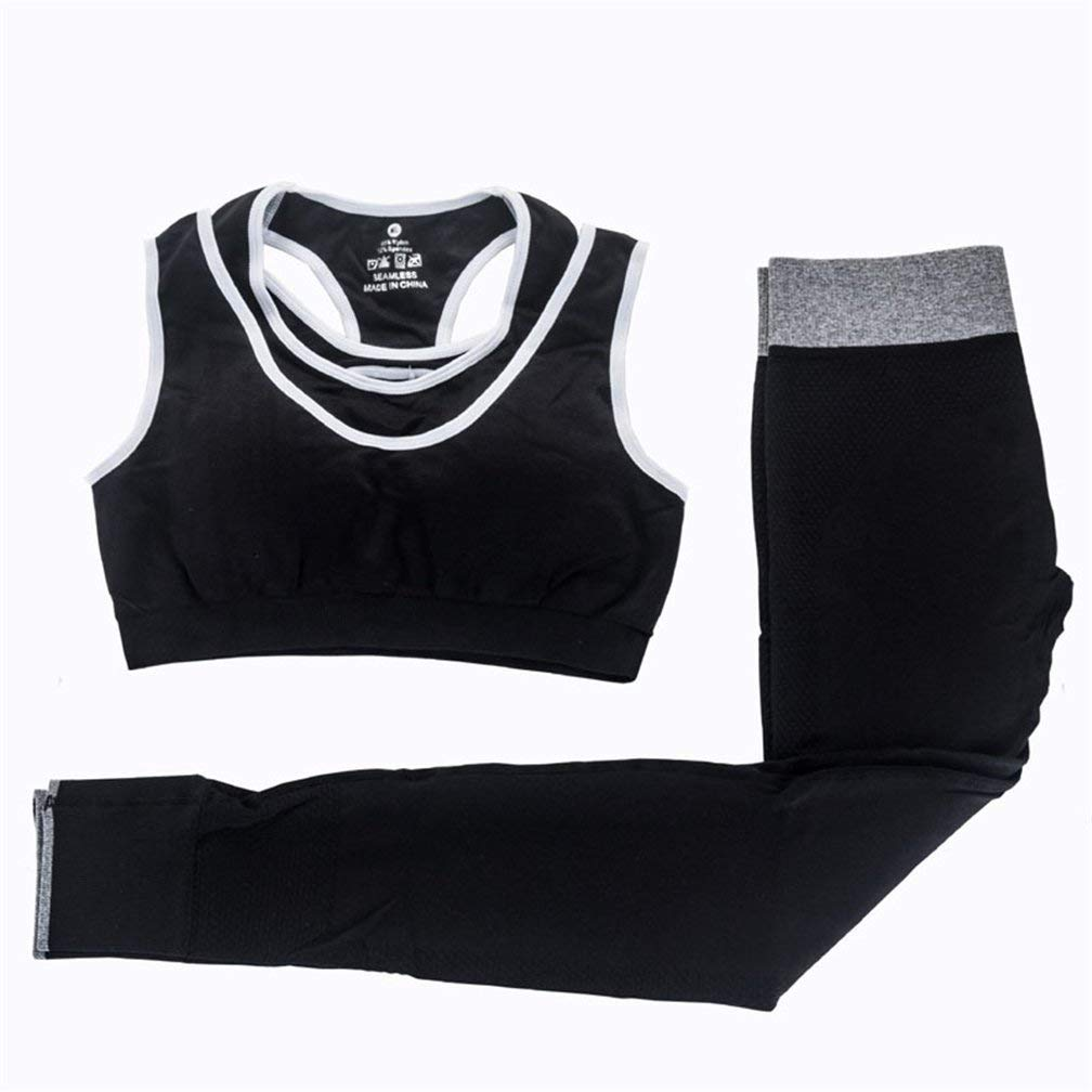 Women Yoga Sets Fitness Sports Bra Pants Sport Suit Jogging Workout Running Set Suit