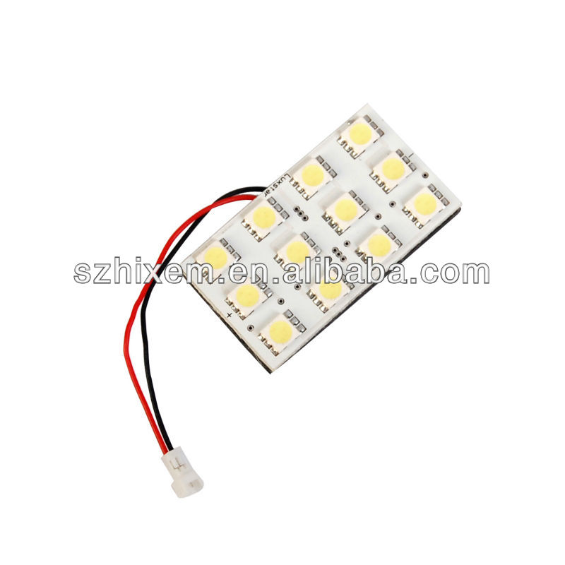 SGS verified, Hot selling, best seller, high quality, Car LED reading light, 12SMD 5050, super bright