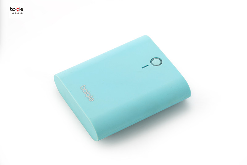 Gift candy color portable power Indicator mobile charger colorful powerbank