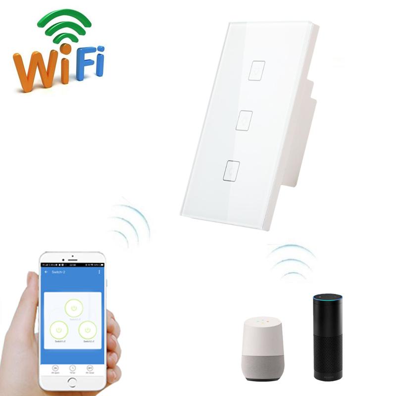 Wifi Smart Home Voice Control Tuya Smart Life Wifi Light Switch - Buy Smart  Home Light Switch,Voice Control Light Switch,Tuya Smart Light Switch