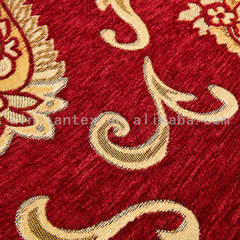 Polyester Hot Ing Antique Furniture Upholstery Fabric