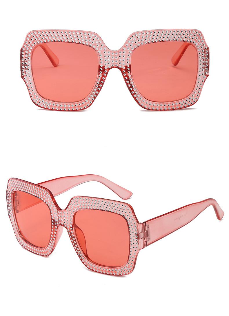 Oversize Strass Sonnenbrille Für Frauen Marke Designer Faux Juwelen ...