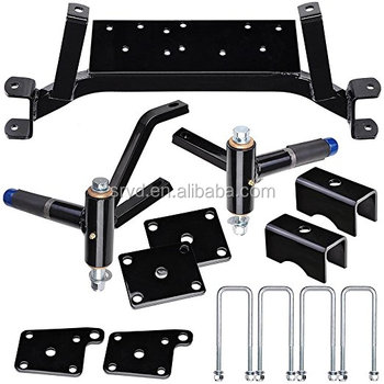 "Shu-Ran 5"" Drop Axle Lift Kit for EZGO TXT Electric&Gas Golf Cart Models with Spindles"