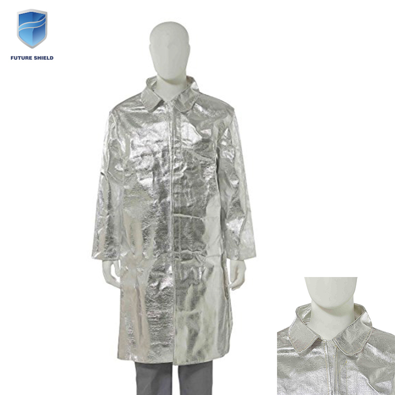 High quality custom silver heat fire retardant protective suit