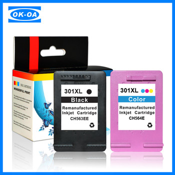 refillable ink cartridge auto reset chip for hp 301