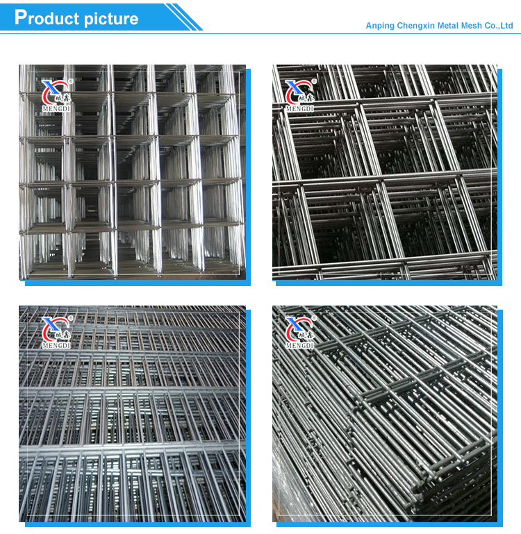 Low price 1mm, 2mm, 3mm galvanized welded mesh panel/iron wire mesh panel