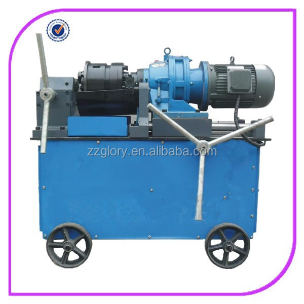 Hot selling construction rebar used thread rolling machine YGS-40B