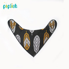 Cotton Bandana Bibs Baby Feeding Smock Infant Burp Cloths Cartoon Saliva Towel Baby Eating Accessory Soft Baby Stuff