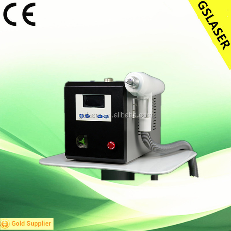 2016 New Tattoo Removal with CE q switched laser picosecond pulse