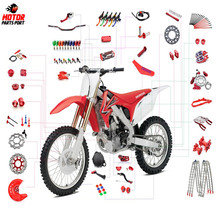 Custom best aftermarket metal motorcycle spare parts for Honda Kawasaki KTM