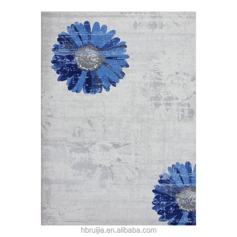 Top Selling Soft Microfiber Flower Shaped Rug Hairy Carpets and Rugs with Cheap Price