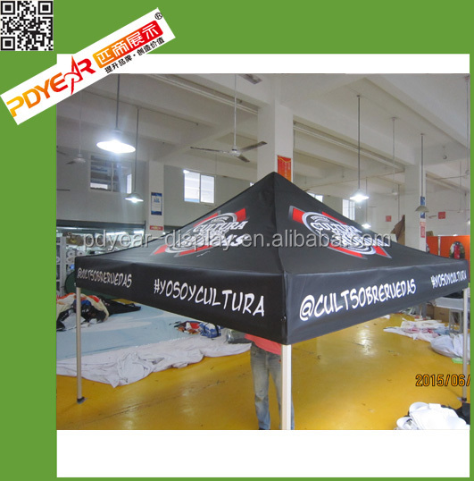 China supplier of colorful display folding tent