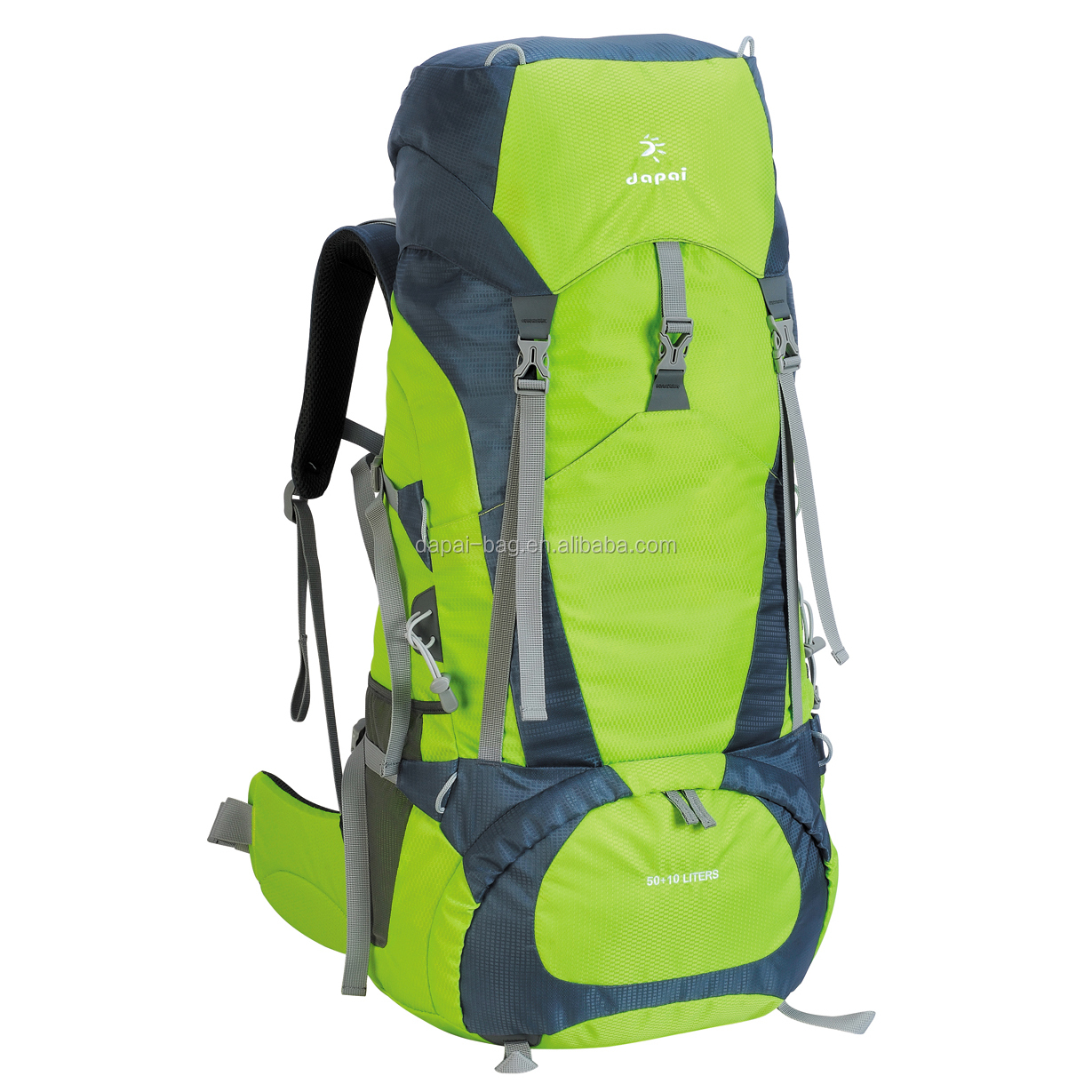 Outdoor Adventure Camping Gear Backcountry Carrier Hiking Backpack 75L