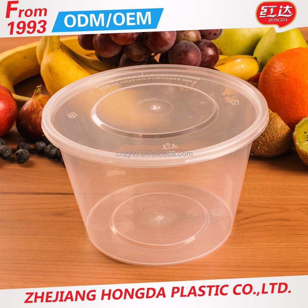 Take Away Microwave Disposable Plastic
