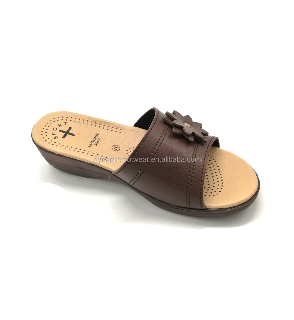 70d4d0e22de7 Classic Pu Heel Chappal Sandal