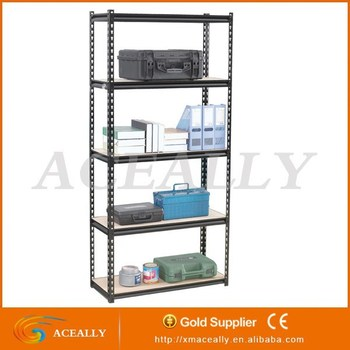 industrial metal shelf 5 tier metal garage storage rivet shelving - Industrial Metal Shelving