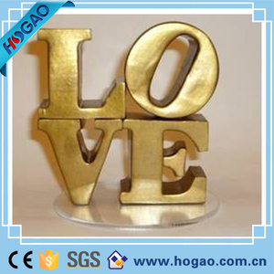 Resin Fairground Carnival Love Sign Wedding Decoration