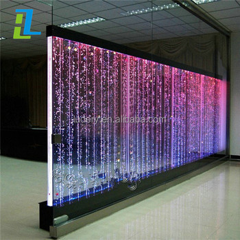 Floor Standing Water Bubble Tube With Changing Color Acrylic Led Light For Home And Hotel Decoration Buy Water Bubble Light Tube Acrylic Bubble
