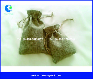 jewelry display jute bag small jewelry bags hanging display bags