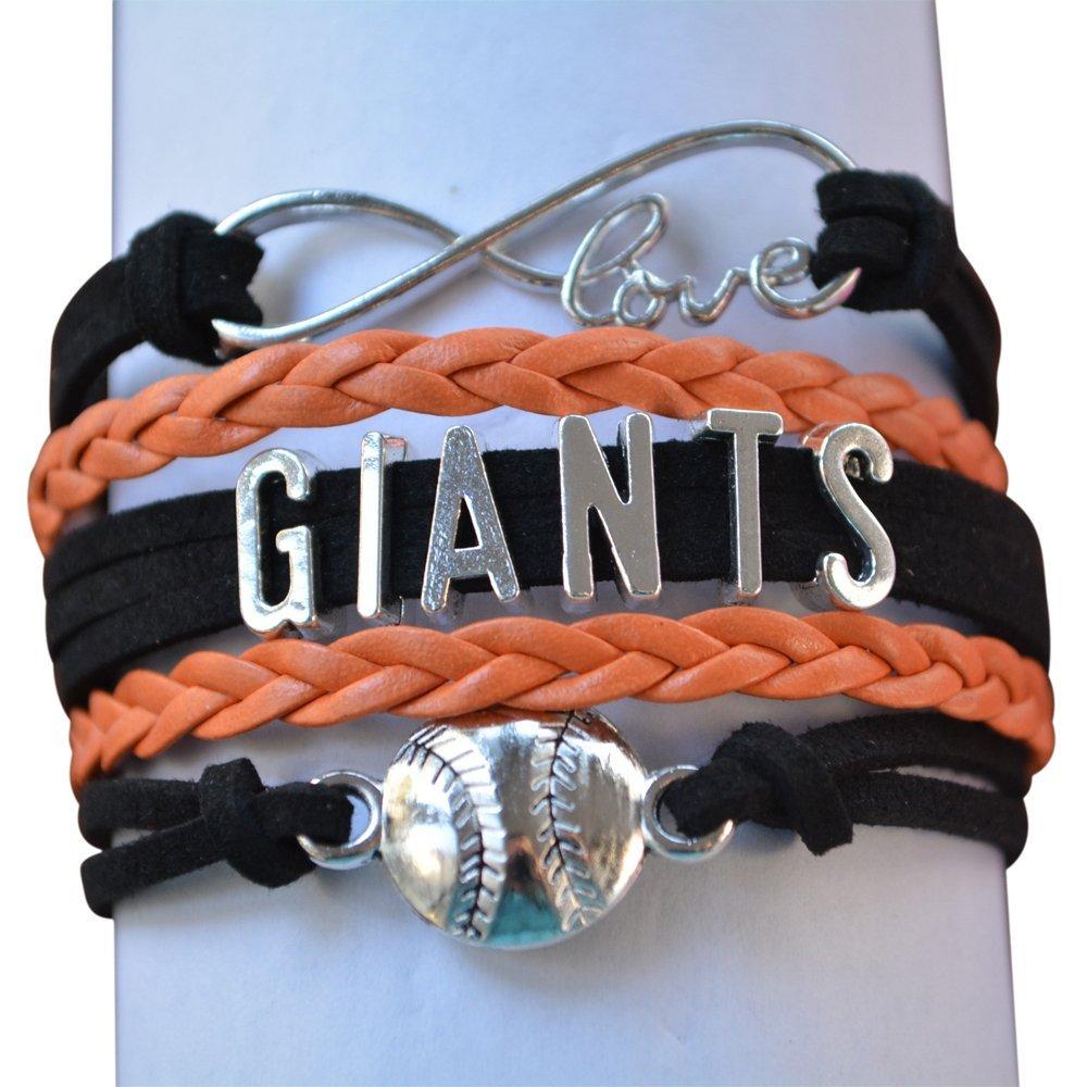eeb57a3fc36 Get Quotations · San Francisco Giants Bracelet