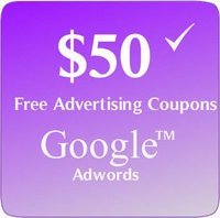 $50 Google Adwords Vouchers/Coupons