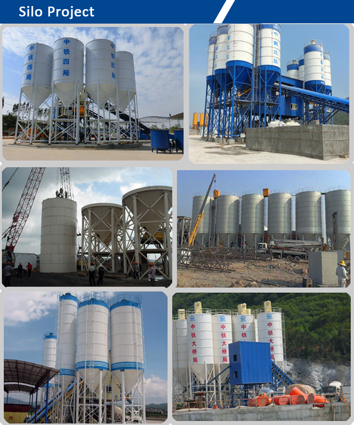 50 Ton cement silo price